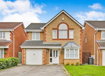 Thumbnail 4 bed detached house for sale in Romaldkirk Close, Consett