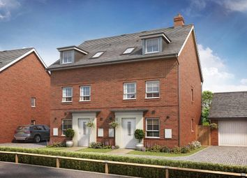 "Thumbnail 3 bedroom semi-detached house for sale in ""Norbury"" at Broughton Crossing, Broughton, Aylesbury"