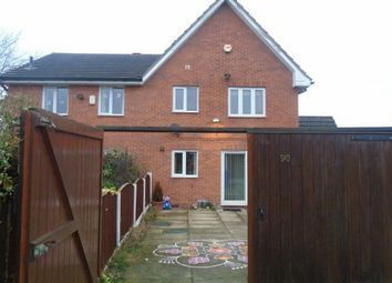 Thumbnail 3 bed semi-detached house to rent in Ullswater Road, Wythenshawe, Manchester