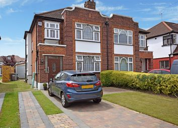 Thumbnail 3 bed semi-detached house for sale in Abbotts Drive, North Wembley, Middlesex