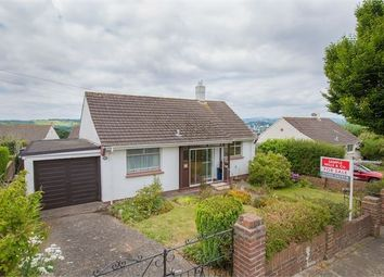 Thumbnail 2 bed detached bungalow for sale in Haytor Drive, Newton Abbot, Devon.