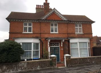 Thumbnail 1 bed flat to rent in Edith Road, Westgate-On-Sea