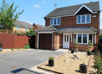 Thumbnail 4 bed detached house for sale in Highgrove Close, Coalville