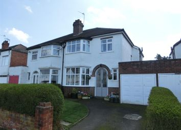 Thumbnail 3 bed property for sale in Cropthorne Road, Shirley, Solihull