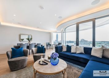 Thumbnail 3 bedroom flat to rent in Albert Embankment, London