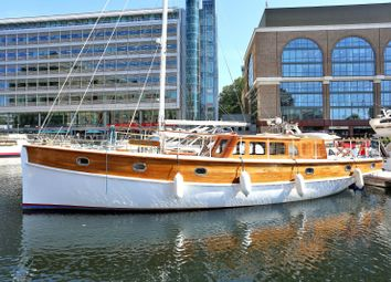 Thumbnail 2 bed houseboat for sale in West Dock Pontoon St Katharine Docks, Wapping