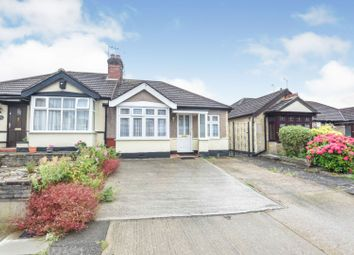 Thumbnail 2 bed semi-detached bungalow for sale in Parkside Ave, London