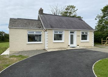 Thumbnail 3 bed detached bungalow for sale in Broheulog, Stop And Call, Goodwick