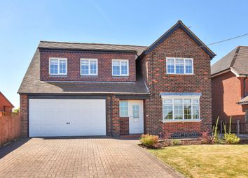 Thumbnail 4 bed detached house for sale in Worthington Lane, Newbold Coleorton