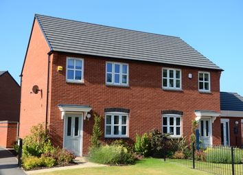 Thumbnail 3 bed semi-detached house for sale in Chalfont Drive, Nottingham