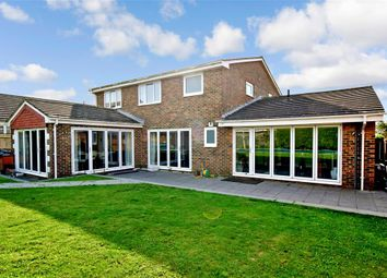 Thumbnail 4 bed detached house for sale in Mount Caburn Crescent, Peacehaven, East Sussex