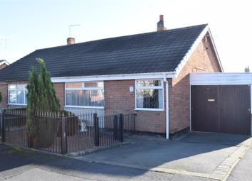 Thumbnail 2 bed semi-detached bungalow for sale in Briar Close, Newhall, Swadlincote