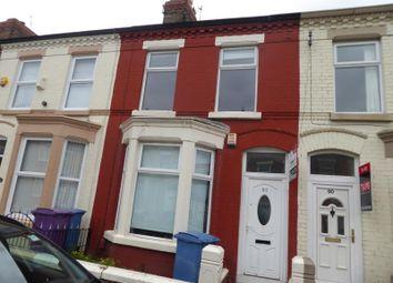 Thumbnail 4 bedroom terraced house for sale in Langton Road, Wavertree, Liverpool, Merseyside