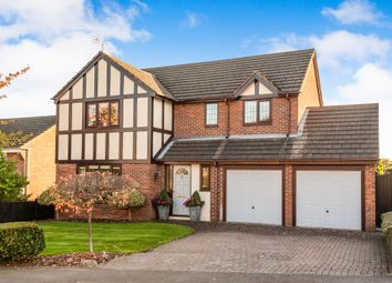 Thumbnail 4 bed detached house for sale in Vicarage Drive, Stramshall, Uttoxeter