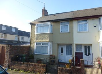 Thumbnail 3 bed end terrace house for sale in Lincoln Street, Canton, Cardiff