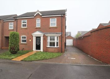 Thumbnail 4 bed link-detached house for sale in Barn Owl Way, Washingborough, Lincoln