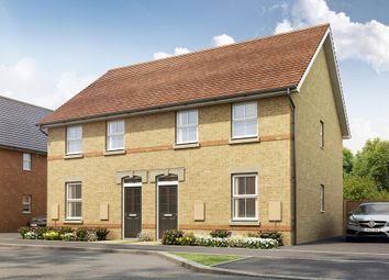 "Thumbnail 3 bed semi-detached house for sale in ""Finchley"" at Pedersen Way, Northstowe, Cambridge"