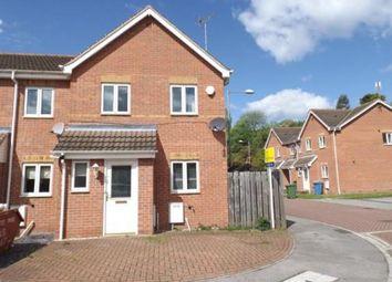 Thumbnail 3 bed terraced house for sale in Heathfield Way, Mansfield, Nottinghamshire
