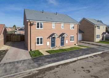 Thumbnail 3 bed semi-detached house for sale in Plot 60, The Sparta, Abbey Walk, Swineshead, Boston