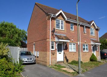 Thumbnail 2 bed semi-detached house for sale in Horseshoe End, Newbury, Berkshire