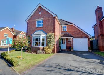 Thumbnail 4 bed detached house for sale in Teasel Way, Claines, Worcester