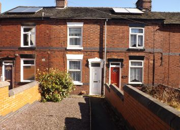 Thumbnail 2 bed cottage for sale in West Terrace, Stoke-On-Trent