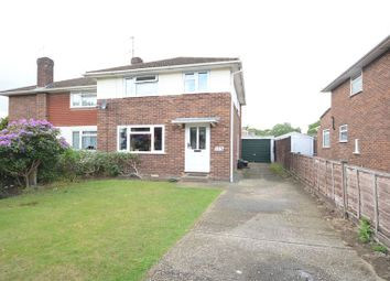 Thumbnail 2 bed semi-detached house to rent in Nightingale Road, Woodley, Reading