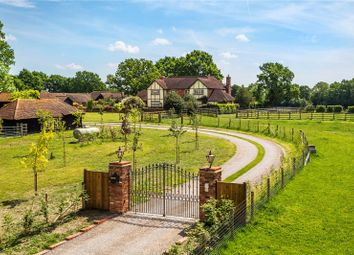 Thumbnail 5 bed detached house for sale in Scotts Grove Road, Chobham, Surrey