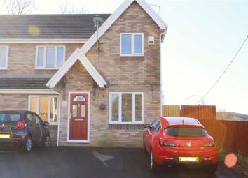 Thumbnail 3 bed semi-detached house for sale in Bakers Wharf, Pontypridd, Rct