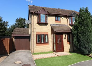 Thumbnail 3 bed semi-detached house for sale in Lucerne Gardens, Hedge End, Southampton