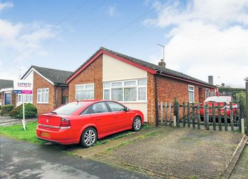 Thumbnail 3 bed detached bungalow for sale in Rainsborough Gardens, Market Harborough, Leicestershire