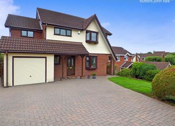 Thumbnail 4 bedroom detached house for sale in Lyndhurst Grove, Stone, Staffordshire