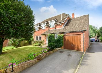 Goodworth Clatford, Andover, Hampshire SP11. 4 bed detached house for sale