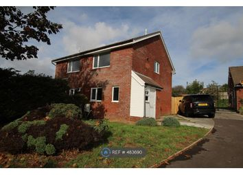 Thumbnail 2 bed semi-detached house to rent in Hazeldene Avenue, Brackla, Bridgend
