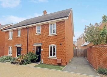 Thumbnail 3 bedroom semi-detached house for sale in South Meadow, Marston Moretaine, Bedford