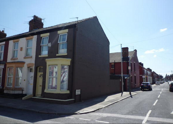Thumbnail 3 bedroom end terrace house to rent in Molyneux Road, Liverpool