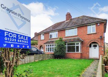 Thumbnail 3 bed semi-detached house for sale in Clarendon Avenue, Hilperton, Trowbridge