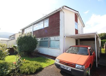 Thumbnail 3 bed semi-detached house for sale in Belmont Close, Abergavenny