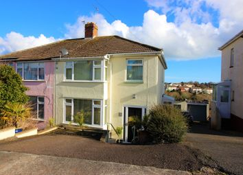 Thumbnail 3 bed semi-detached house for sale in Highland Road, Torquay