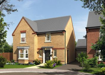 "Thumbnail 4 bed detached house for sale in ""Shenton"" at Folly View Close, Penperlleni, Pontypool"