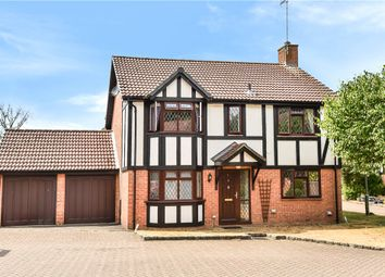 Thumbnail 4 bed detached house for sale in Shire Close, Bagshot, Surrey