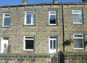 Thumbnail 2 bedroom terraced house to rent in Chapel Hill, Clayton West, Huddersfield, West Yorkshire
