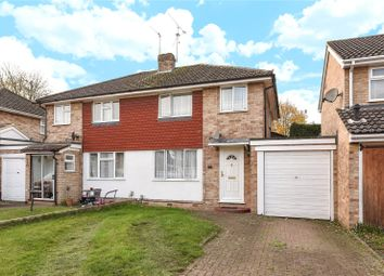 Thumbnail 3 bedroom semi-detached house for sale in Quentin Road, Woodley, Reading, Berkshire