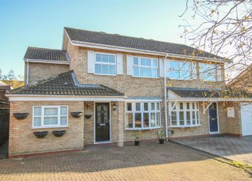 Thumbnail 5 bed semi-detached house for sale in Marsham Close, Stoke Grange, Aylesbury