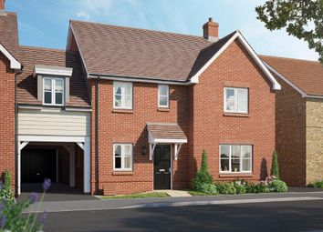 Thumbnail 4 bed link-detached house for sale in The Oakford V2, Chapel End Road, Houghton Conquest