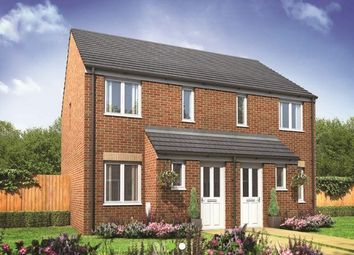 Thumbnail 2 bed semi-detached house for sale in Plot 114 Alnwick, Hampton Gardens, Hampton, Peterborough