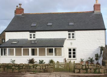 Thumbnail 3 bedroom farmhouse to rent in Lamorna Nr, St Buryan