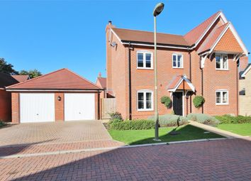 Thumbnail 4 bedroom detached house for sale in Claypit Lane, East Challow, Wantage