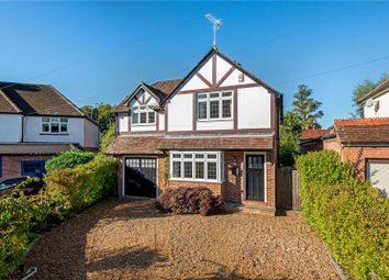 Thumbnail 4 bedroom detached house for sale in Poplar Avenue, Windlesham, Surrey
