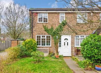 Thumbnail 3 bed end terrace house for sale in Redbank, Leybourne, West Malling, Kent